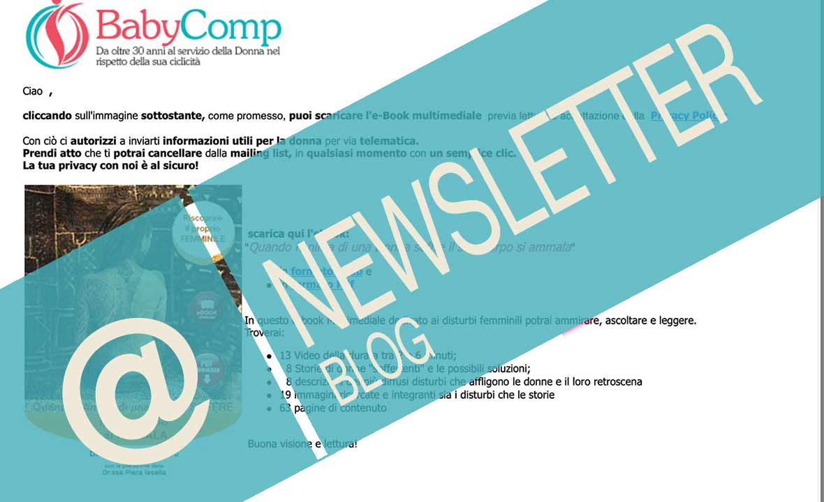 Newsletter per comprendere Lady-Comp, Pearly